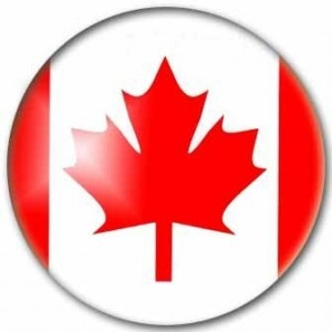 Canadese vlag logo.