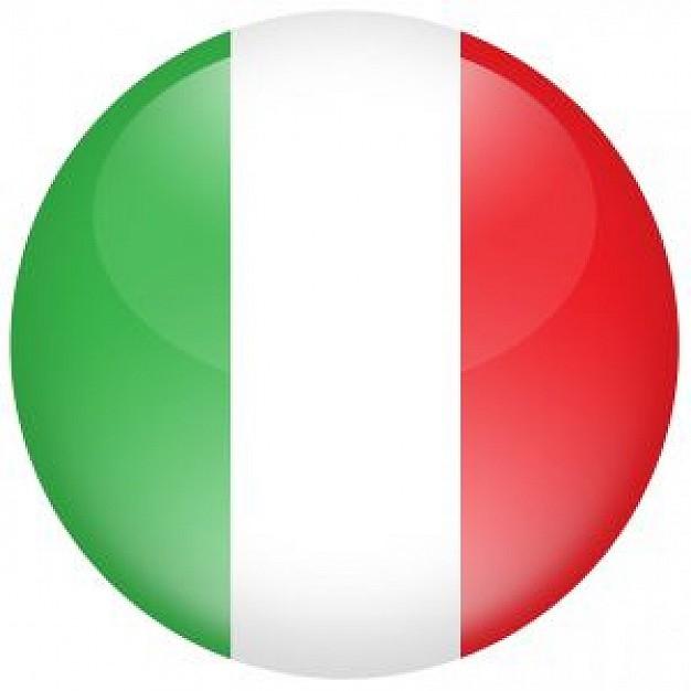 Italiaanse vlag logo.