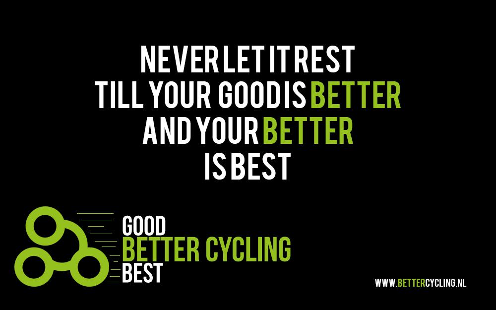 Better Cycling slogan