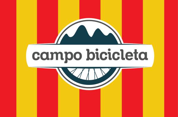 Campo Bicicleta logo, fietsreizen in Girona Spanje.